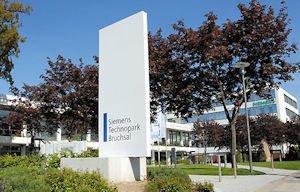 Eingangsbereich des Technopark Bruchsal