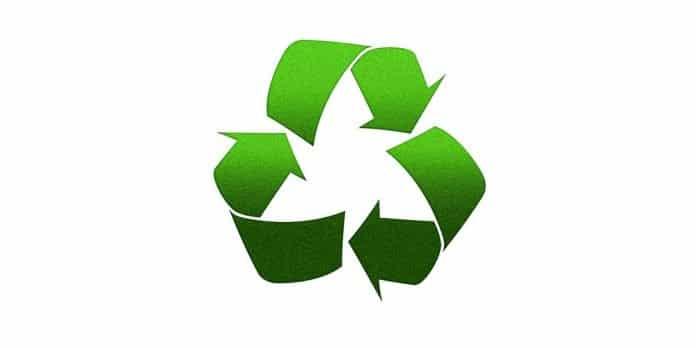 Symbol für Recyceln für das Thema Metallrecycler