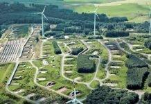 Lagerhallen für Ökostrom