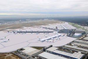 Terminal 3 Flughafen FFM