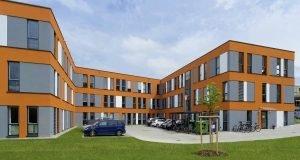 Kleusberg, Modulgebäude, Mietgebäude, Raumsystem, BAU 2015