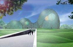 Saurierpark, Mitoseum, ETFE, Foliendach