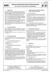 AGI, AGI-Arbeitsblatt, K 21, Beschichtung, Stahlbau, wasserverdünnbare Beschichtung, Korrosionsschutz