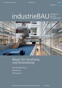 industriebau Ausgabe 0316