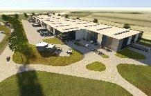VGP Logistikimmobilie Rieck, Projektentwicklung, Logistikhalle