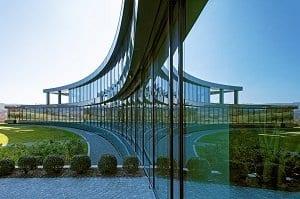 Der Neubau der Münzing Chemie in Abstatt des Heilbronner Büros Müller Architekten ist bereits bei der Erstellung für Erweiterungen vorbereitet.