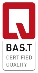 BAS.T-Qualitätssiegel