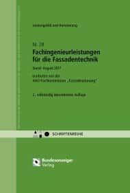 AHO, AHO Heft 28, AHO-Schriftenreihe, AHO Heft 3, Fachingenieurleistungenm, Fassadentechnik