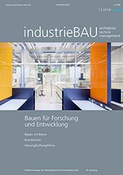 industrieBAU Cover 1/2018
