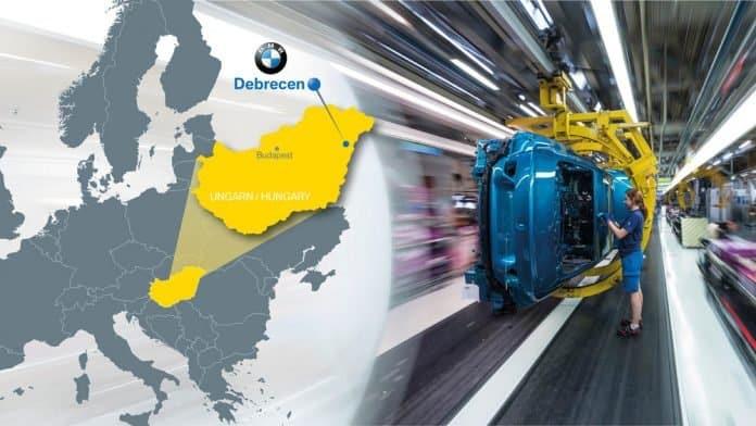 Neues BMW Werk in Ungarn