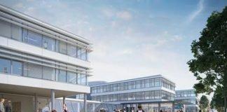 Konzernzentrale von Grammer mit Technologiezentrum. Bild: jb architekten