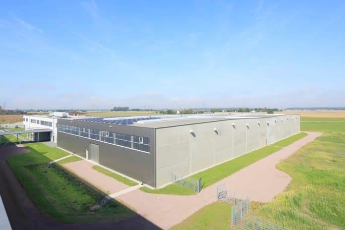 Über-Eck-Ansicht des neuen Standorts von Prodinger