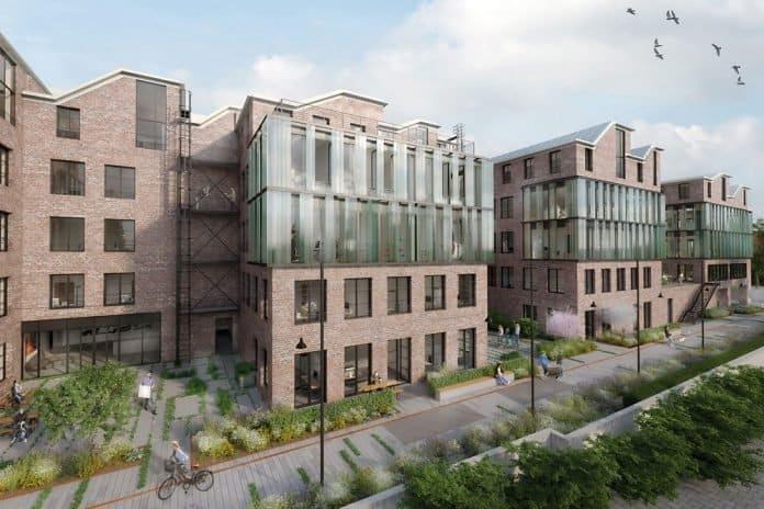 Quartier New Eastside Munich - Factory Loft von Oliv Architekten