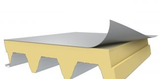 Flachdachsystem, Dachabdichtung, Dachdämmung, Industriedach