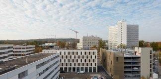 Blick auf den Wolff & Müller Campus in Stuttgart. Bild: Sven Carlin