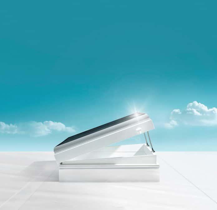Lichtkuppel, Tageslicht. Bild: Skylux