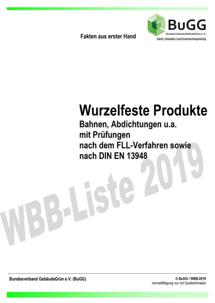 WBB-Liste 2019