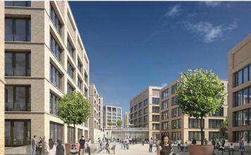 Der neue W&W-Campus in Kornwestheim.