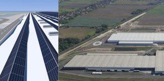 Die Audi-Logistikzentren in Györ bieten viel Platz für erneuerbare Energie: