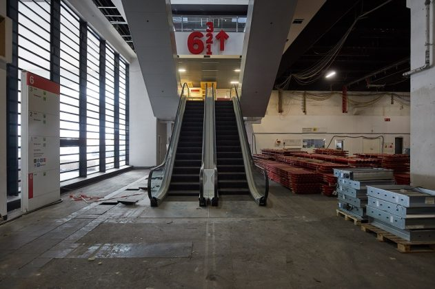 Rolltreppen wurden auf den neusten technischen Stand gebracht. Bild: Jean-Luc Valentin/Messe Frankfurt