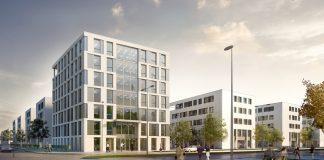 Rendering des Tower B5 in Berlin Adlershof. Bild: T. Merkau/immobilien-experten-ag
