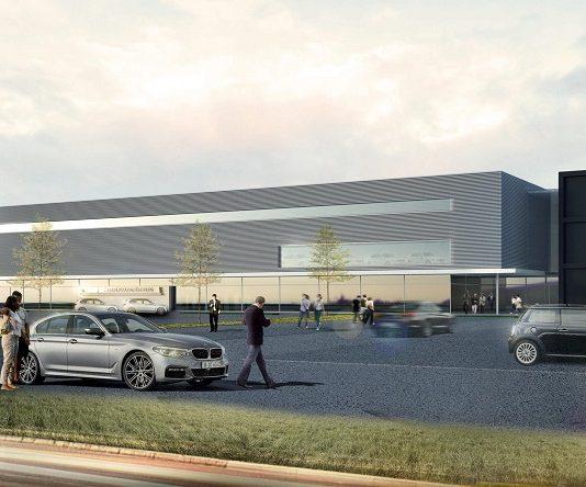 Rendering der neuen Nürnberger Niederlassung. Bild: BMW AG