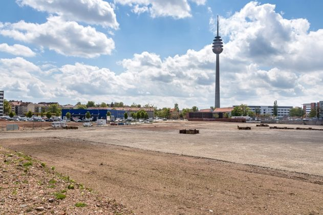 Die Vorbereitungen für den Neubau haben bereits begonnen. Bild: T. Lingstädt/BMW AG