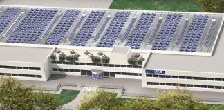 Rendering des Mahle Service Solutions Centers. Bild: