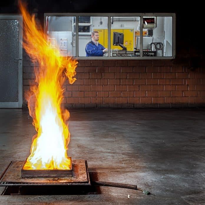 Brandschutzmeldeanlagen, Labor, Feuer, Flamme