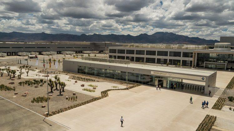 Luftaufnahme des mexikanischen BMW-Werks. Bild: BMW