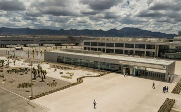 Das neue BMW-Produktionswerk befindet sich im mexikanischen San Luis Potosí. Bild: BMW