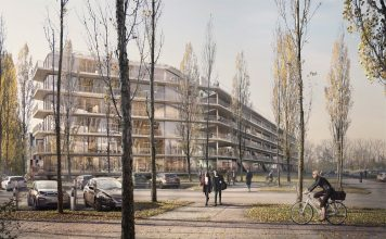 Außenansicht des Hammerschmidt. Bild: Euroboden/ Formes Massie Studios