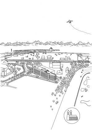 Lageplan. Bild: Brandlhuber+ Muck Petzet Architekten