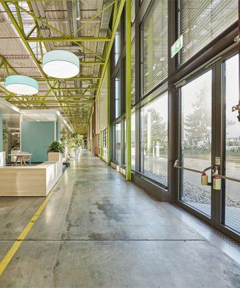 Insgesamt über 1.000 Angestellte arbeiten hier. Bild: kab architekten