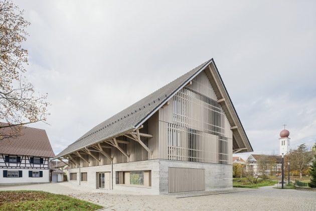 Die Bücherei Kressbronn am Bodensee. Bild: B. González