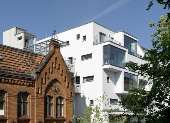 Das c13 in Berlin (vorne). Bild: B. Borchardt