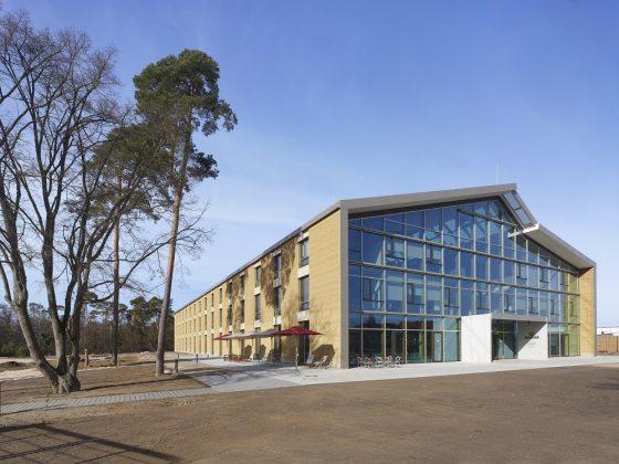 Der Alnatura Campus in Darmstadt. Bild: R. Halbe