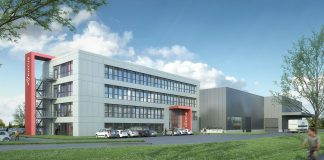 Rendering des neuen Aventus Firmensitz in Warendorf. Bild: Engel & Haehnel