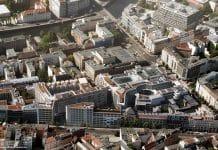 Rendering des neuen Quartiers Am Tacheles. Bild: bloomimages