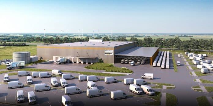 Panattoni realisiert inzwischen das fünfte Projekt für Amazon. Bild: Goldbeck GmbH