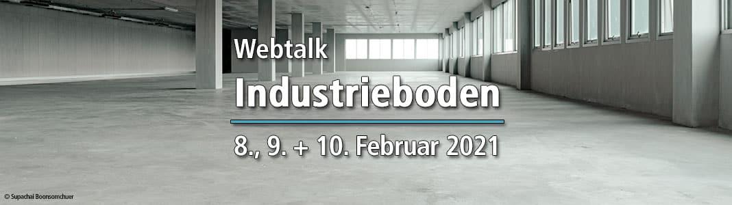 Webtalk Industrieboden 8.-10.02.2021
