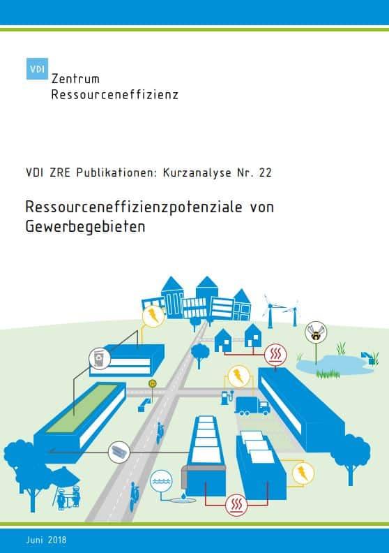 Ressourceneffizienzpotenziale von Gewerbegebieten