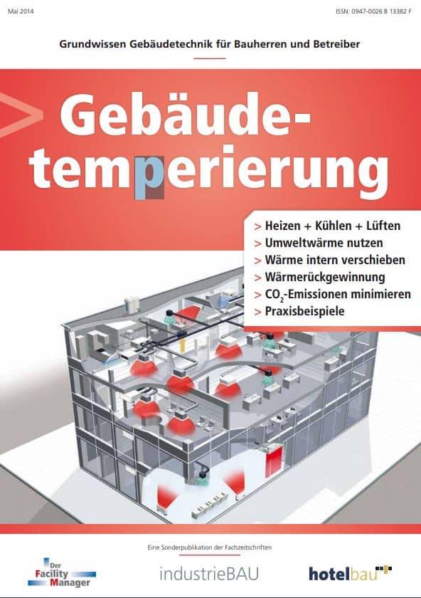 """Sonderheft """"Gebäudetemperierung"""" als PDF"""
