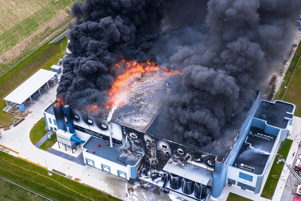 Muster-Richtlinie: baulicher Brandschutz im Industriebau