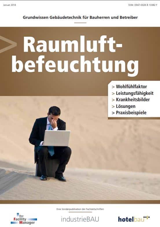 """Sonderheft """"Raumluftbefeuchtung"""" als PDF"""