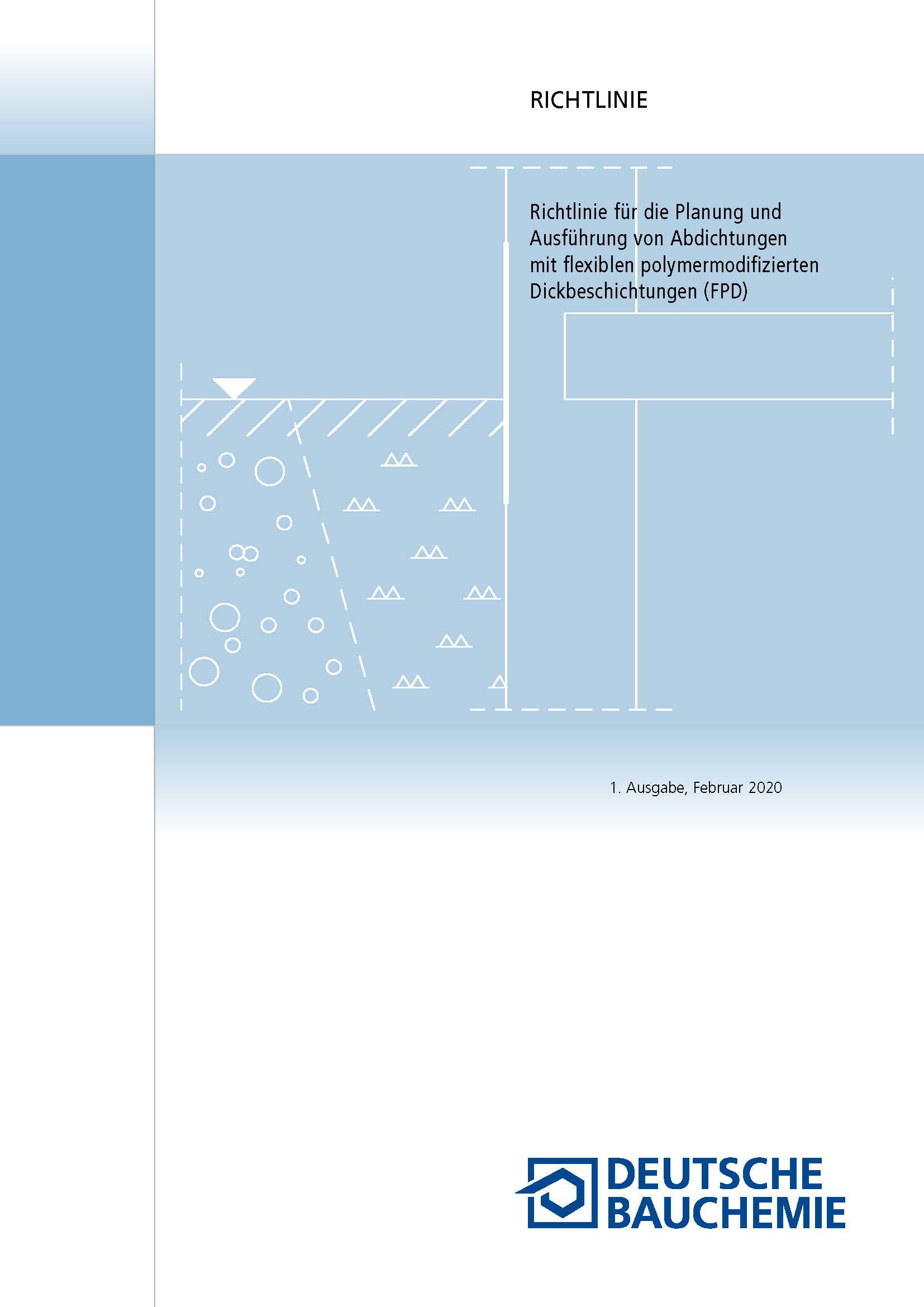 Deutsche Bauchemie: FPD-Richtlinie 2020